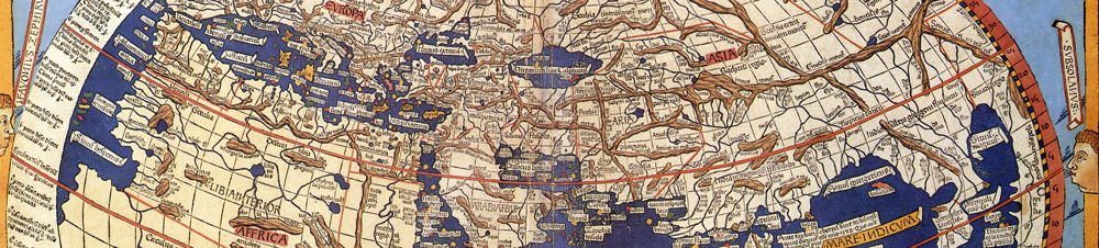 Excerpt of Ptolemy´s World, illustrated 1482; Source: wikimedia/public domain