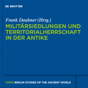 Topoi. Berlin Studies of the Ancient World 3
