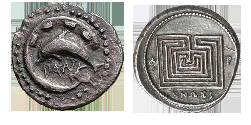 Ausstellung Antike Welten: Münze | ©Topoi