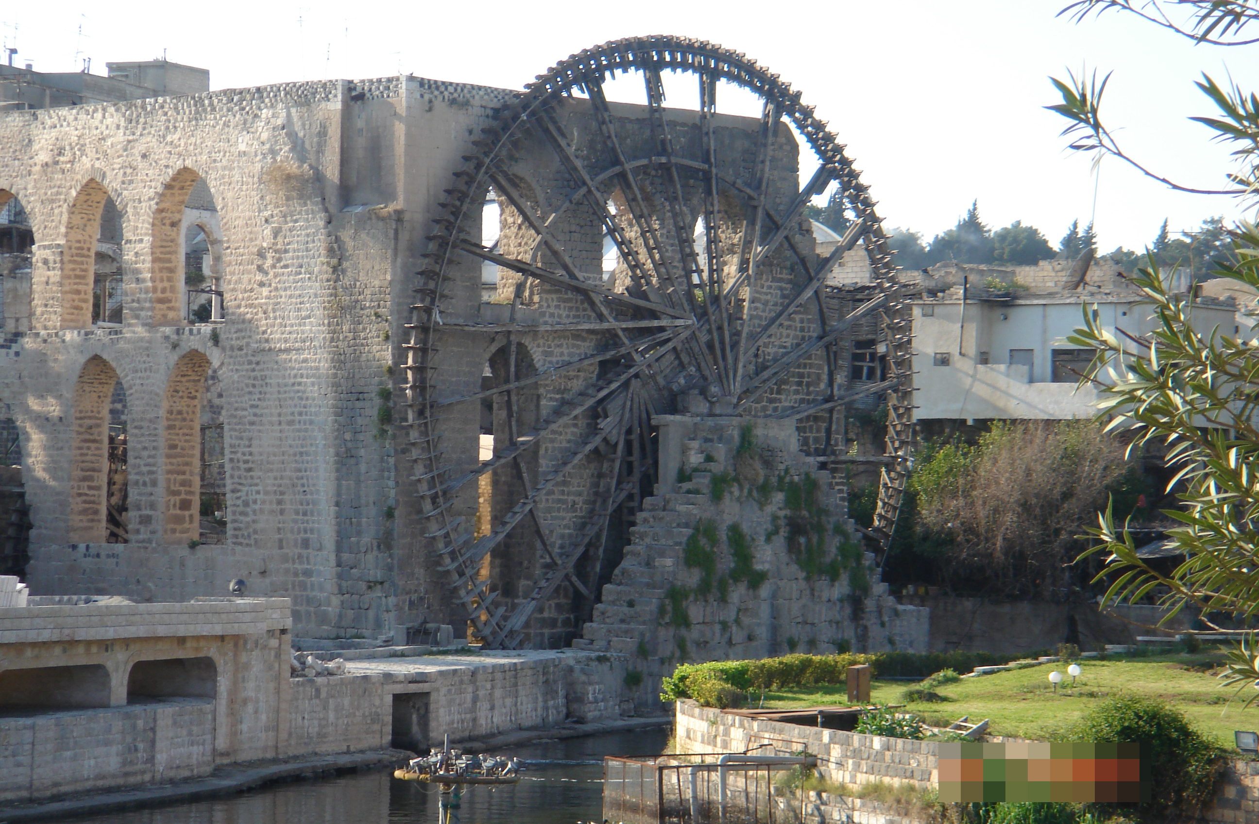 Waterwheel (Naura) in Hama, Syria