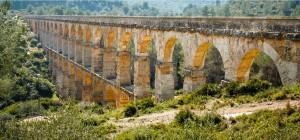 Aquädukt, Tarragona, Spanien