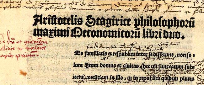 Mittlealterliches Textdokument