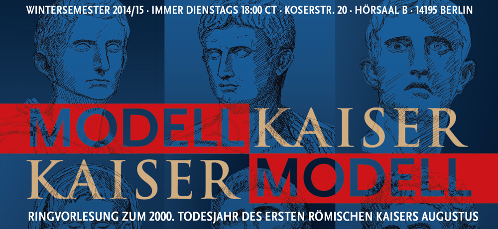 Banner zur Ringvorlesung Modell-Kaiser