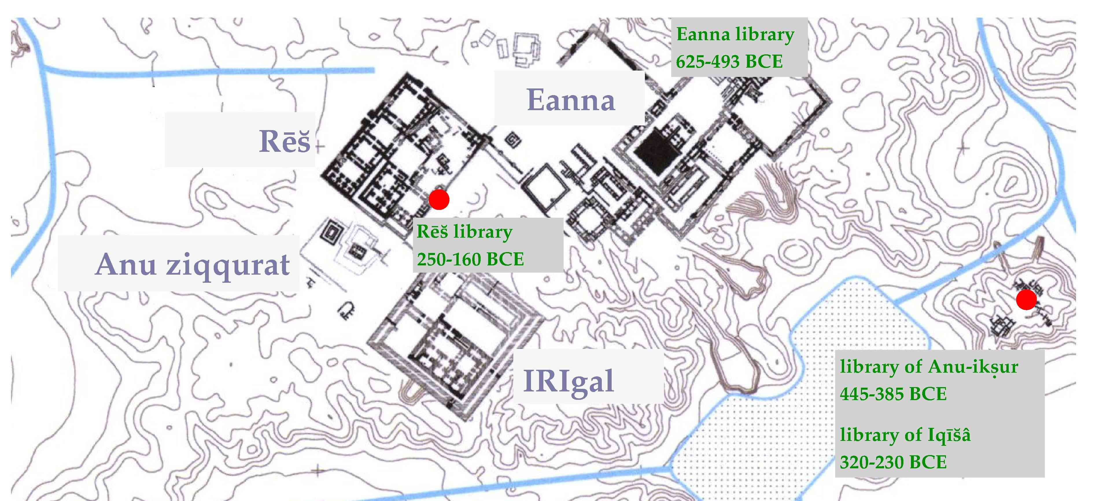 Scholarly libraries in Uruk during the first Millennium BCE