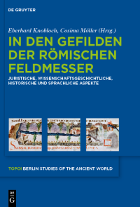 Topoi. Berlin Studies of the Ancient World, Vol. 13