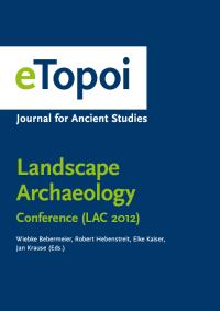 Cover of eTopoi. Special Volume 3