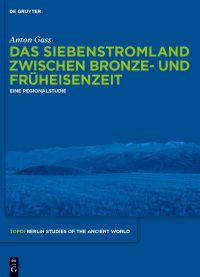 Topoi Berlin Studies Cover Publikation Anton Gass