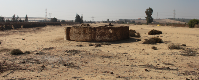 The current antiquities land of Merimde Beni Salama | Photo/Copyright: J. Rowland/Egypt Exploration Society
