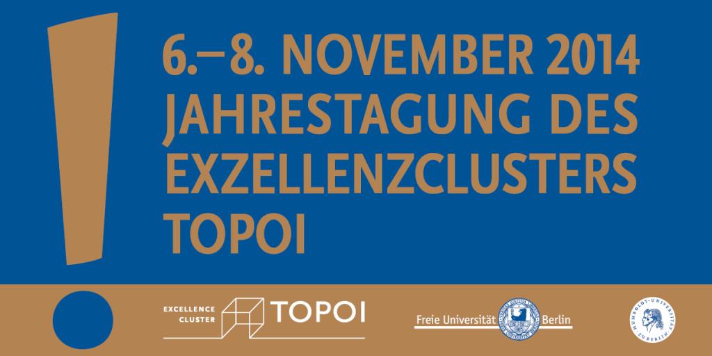 Flyer Topoi Jahrestagung