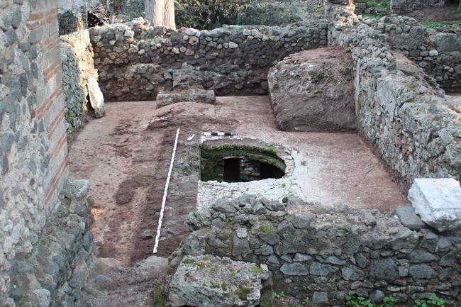 Republican Baths of Pompeii, MaleTepidarium and Caldarium, Excavation March 2015 | Copyright: Monika Trümper