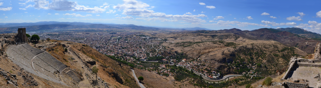 Panorama of Pergamon |Photo: Octavian1311 CC BY 4.0