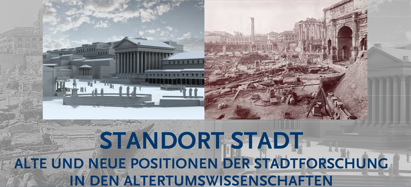 """Event """"Standort Stadt"""" Flyer"""