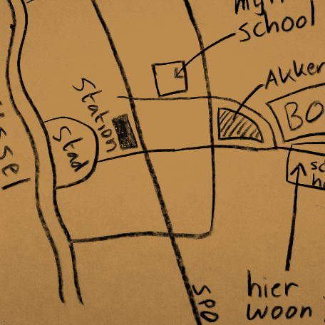 Mental Map of a city   Author: T.Nijeholt   Source: Wikimedia Commons   CC-BY-SA-2.5