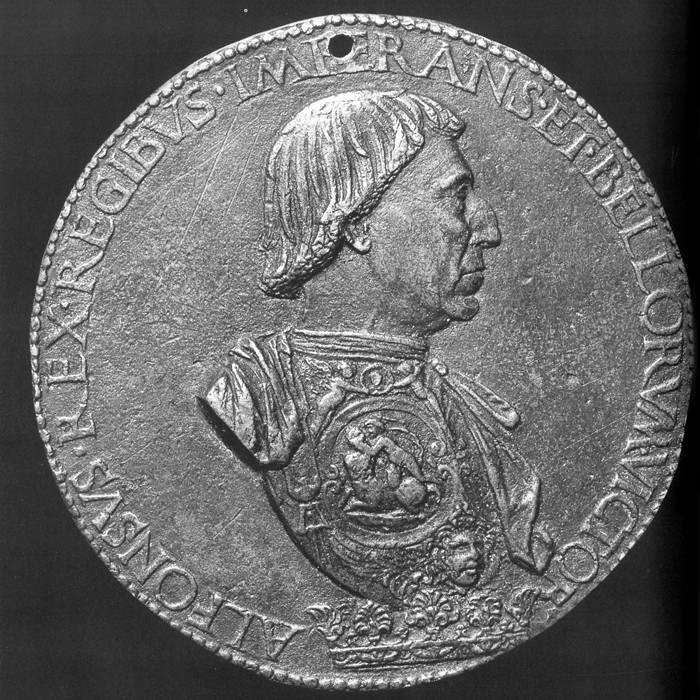 "Portrait Medals of the Renaissance|Source: Stephen K. Scher, ""The Currency of Fame., New York 1994, S. 118, Abb. 35."