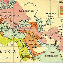 Ethnographie der Alten Welt | Source: Putzgers Historischer Schul-Atlas zur alten, mittleren und neuen Geschichte, 17. Auflage Bielefeld/Leipzig 1991, S. 3