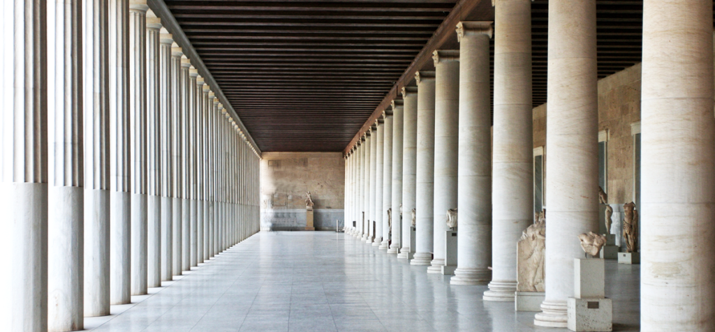 Reconstruction of Stoa of Attalos | Photo: Sharon Mollerus | CC BY 2.0