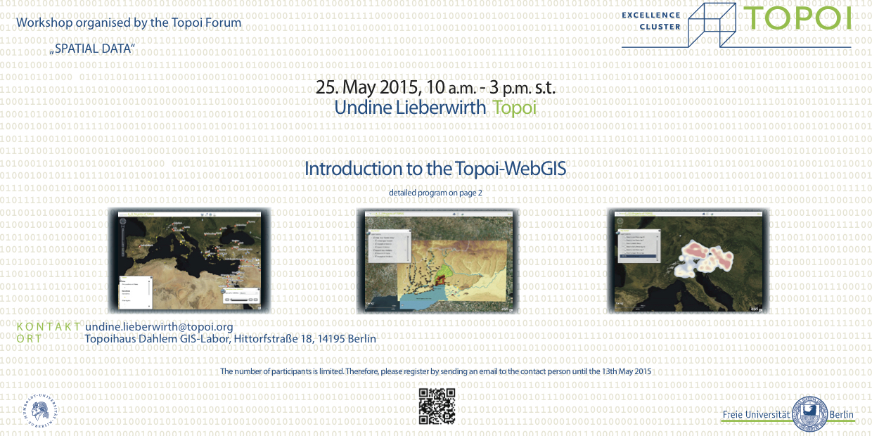 Web GIS Workshop initiates PDF download