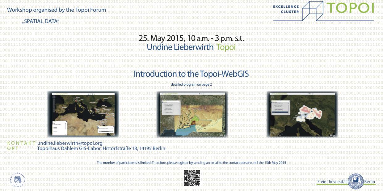 Web GIS Workshop initiates PDF download