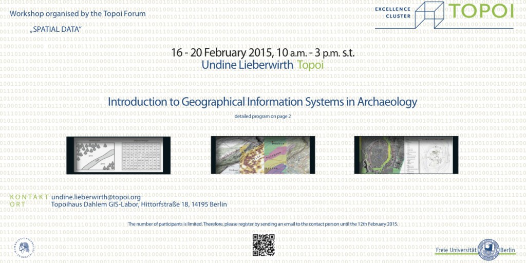 Flyer GIS Workshop Initiates PDF Download