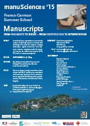 Download english poster manuSciences '15 [PDF, 775 KB]