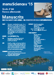 Download french poster manuSciences '15 [PDF, 775 KB]