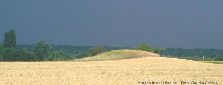 Kurgan in der Ukraine | Foto: Claudia Gerling