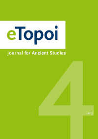 Cover of eTopoi Volume 4