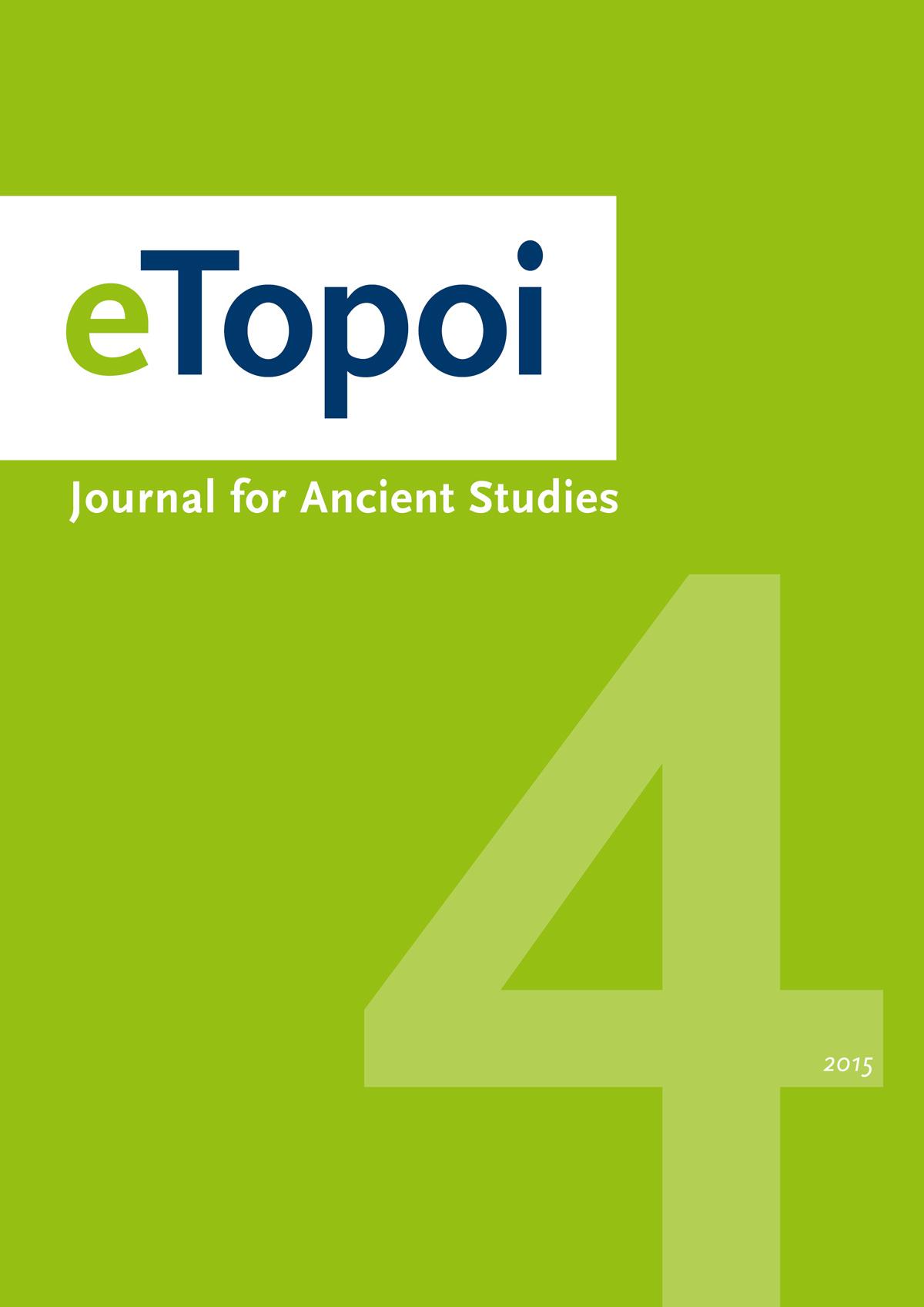 eTopoi. Volume 4