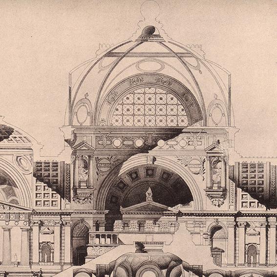 Neckelmann & Schmidt: Museumsinsel, Berlin (1884)