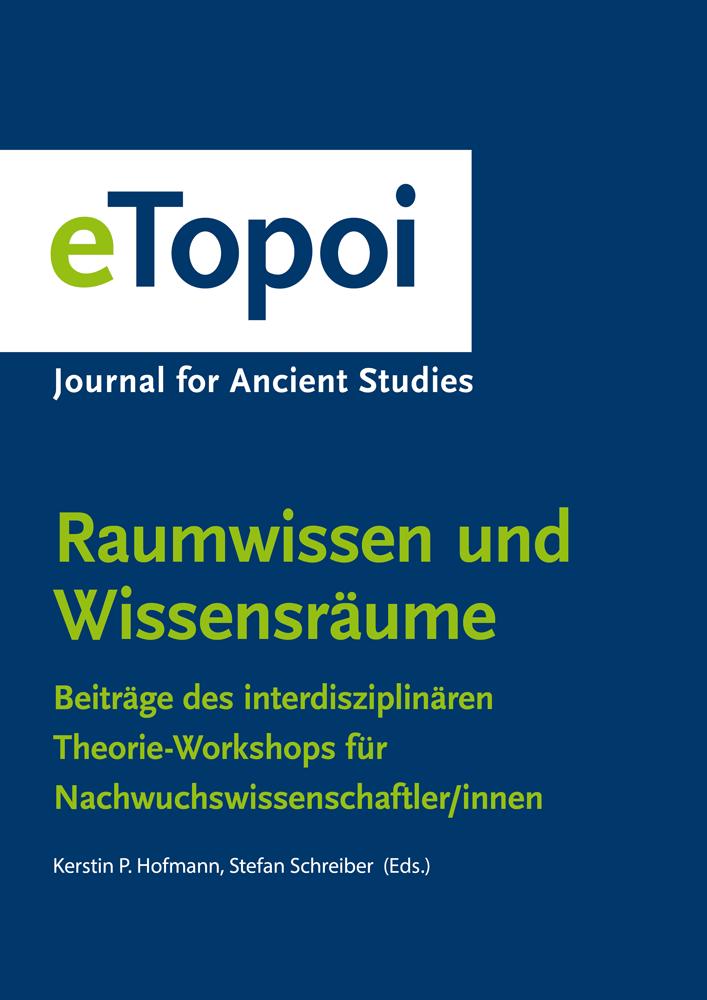 eTopoi. Special Volume 5