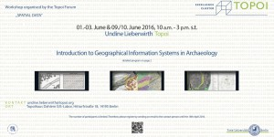 Flyer of the GIS course 2016