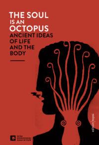 rotes Cover mit schwarzem Kopf und Oktopus