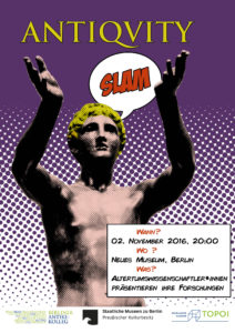 Poster Antiquity Slam 2016