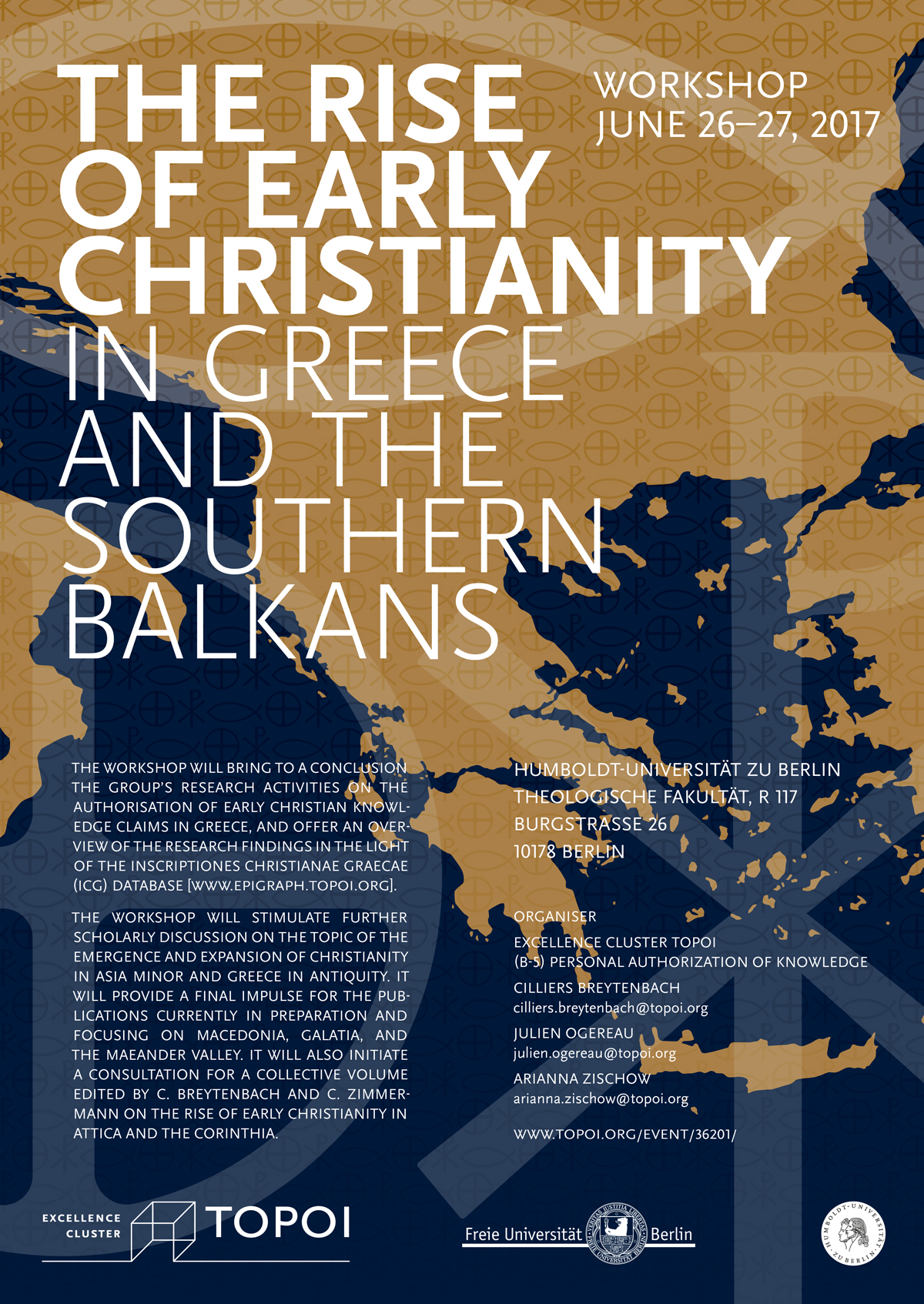 "Workshop Poster ""The rise of early Christianity"""