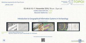 Flyer GIS Kurs November 2016
