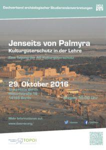 Poster Jenseits von Palmyra