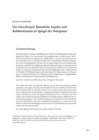 Cover BSA 038 Artikel Lindström