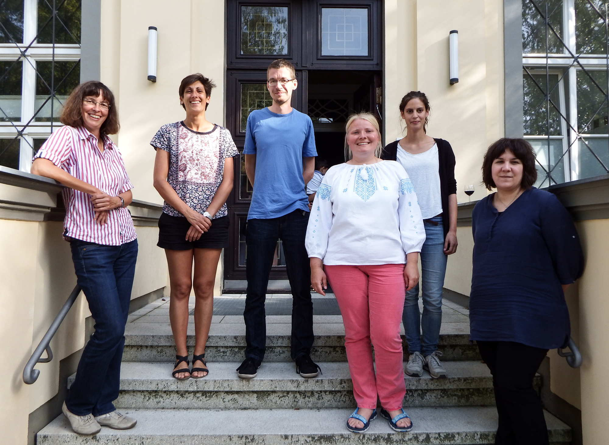 Organsiert wurde die Summer School 2016 von Elke Kaiser, Christina Michel, Martin Riesenberg, Natalia Chub, Ricarda Braun und Andrea-Fleur Schweigart | Foto: Berliner Antike-Kolleg
