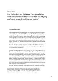 Cover Artikel Berger_BSA 035
