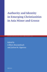 Buchcover: Authority and identity