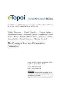Cover Artikel Bebermeier, Brumlich et al. eTopoi SpV 6