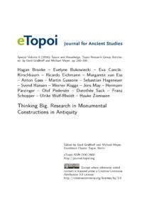 Cover Artikel Brunke et al. eTopoi SpV 6