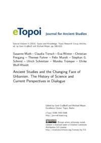 Cover Artikel Muth et al. eTopoi SpV 6
