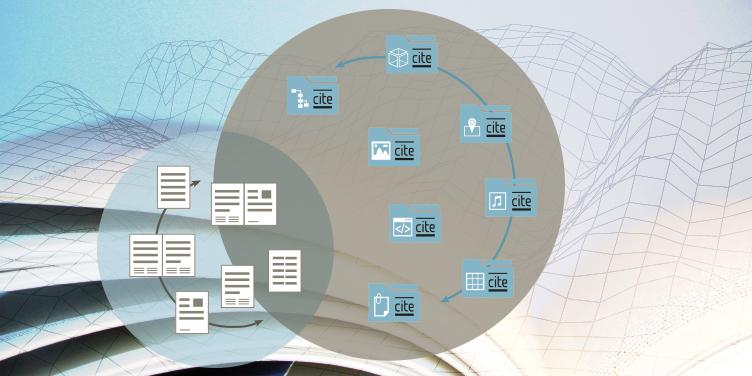 Digitales Netzwerk mit Citables