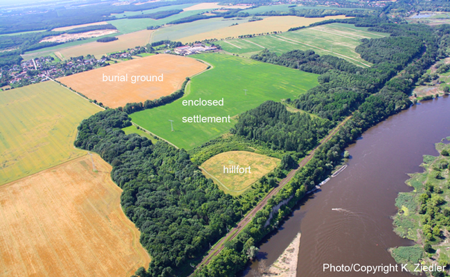 Aerial photo of Lossow | Photo/Copyright: K. Ziedler