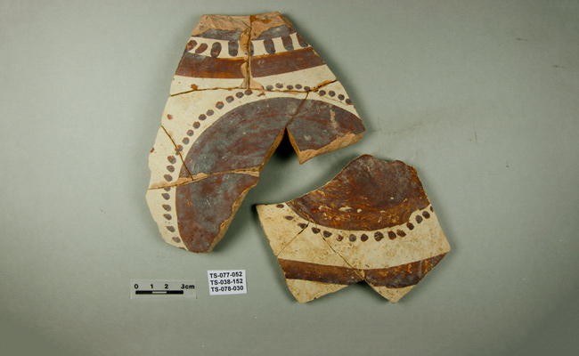 Pottery from Tepe Sohz stylistic group that is local | Photos:  Tepe Sohz Restudy Projekt | © Johannes Greger