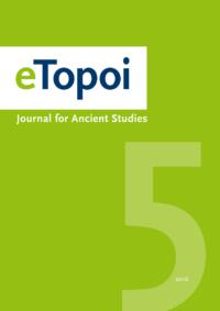 Gruenes Cover eTopoi Volume 5 2016