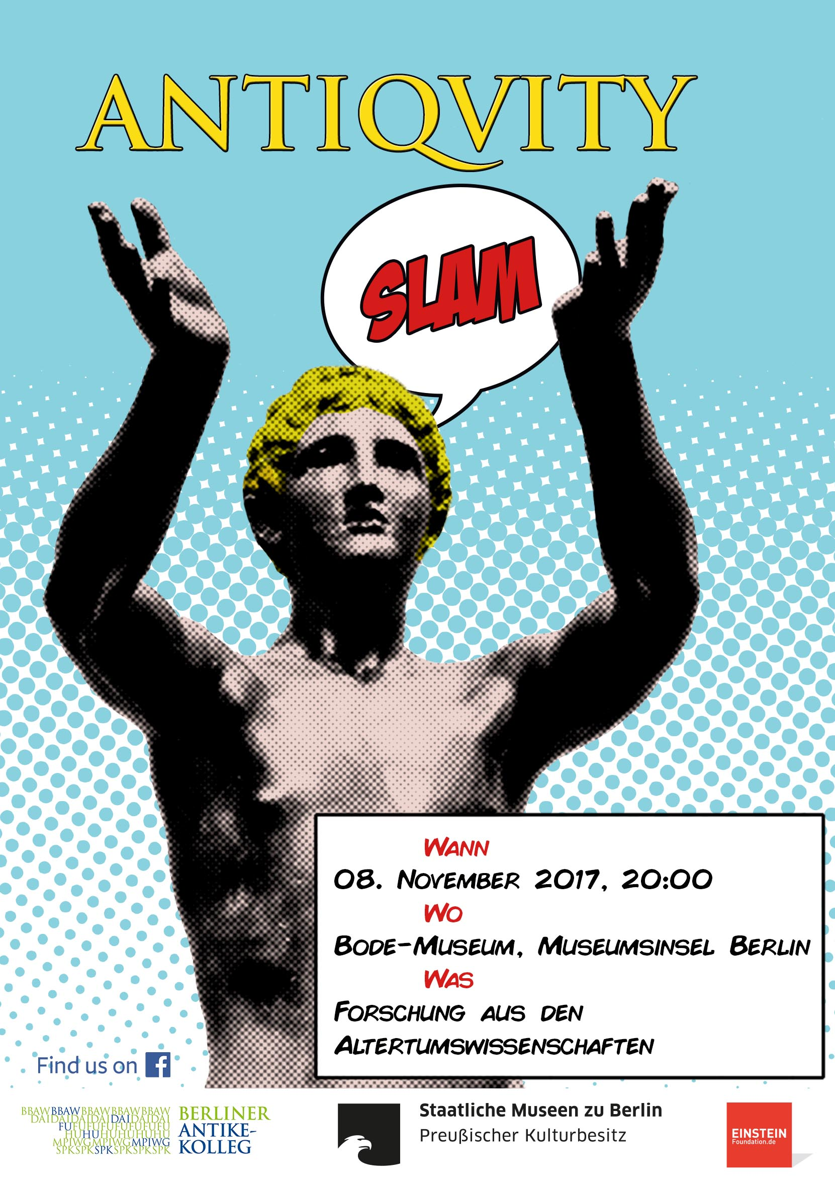 Antiquity Slam Poster