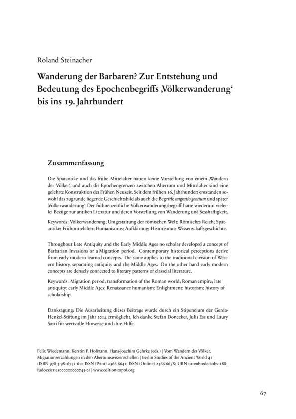 Steinacher, Roland