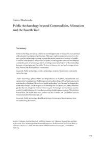 Cover Artikel Moshenska_BSA 045